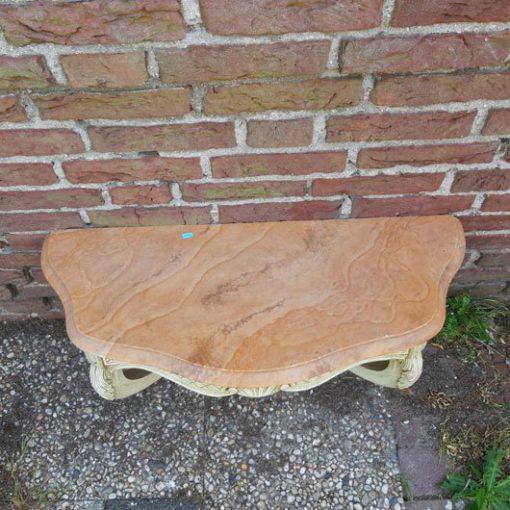 RG41 - Wandtafel - Wandconsole - Marmeren blad