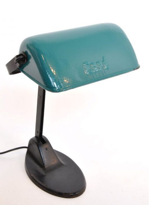 WL42- ERPE Lamp- Emaillen kap VERKOCHT