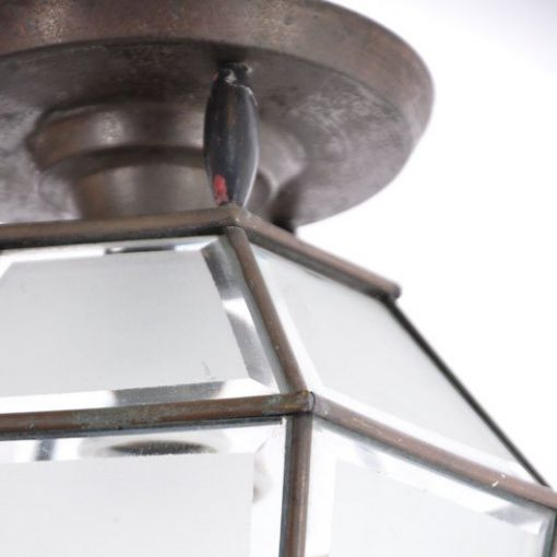 VC42- Antieke Lamp Messing