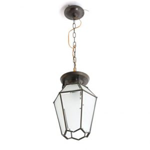 VC42- Antieke Lamp Messing