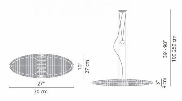 TC42 – Luceplan – Titania -lamp