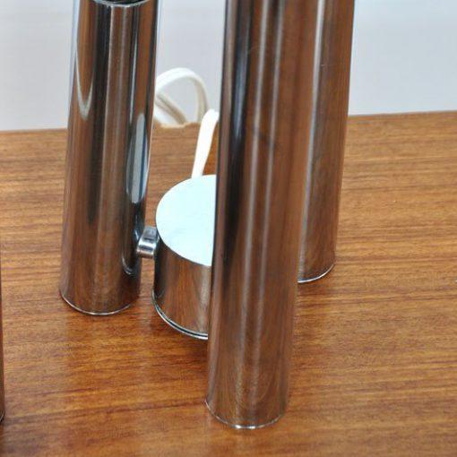 TK42- Verchroomde jaren 60 Tafellamp