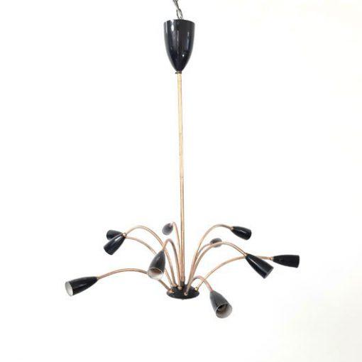 RK42 - Sprietlamp jaren 50 - 50s Pendant - VERKOCHT