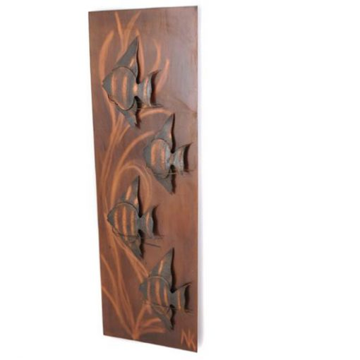 TL43 - Jaren 60 wanddecoratie -Wall sculpture 60s