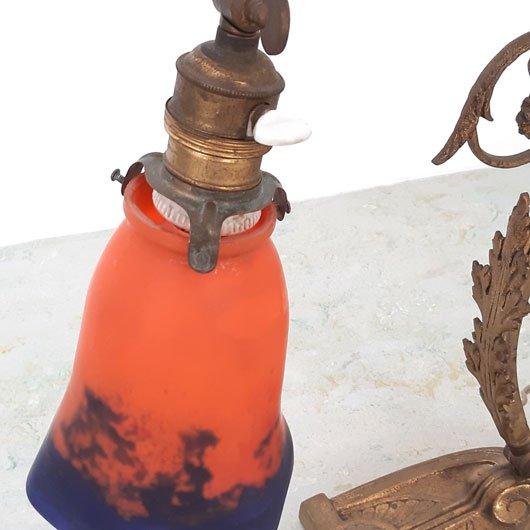 SE44 - Art Nouveau Tafellamp - Noveroy France - Jugendstil - VERKOCHT