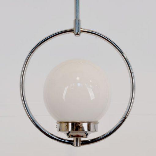 XB44. Art Deco hanglamp VERKOCHT