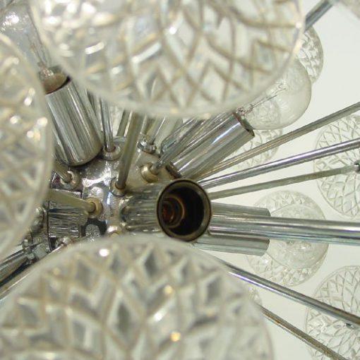 TC44- Val Saint Lambert Sputnik Chandelier