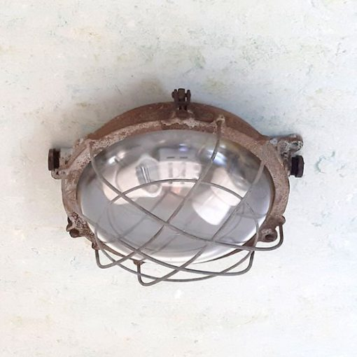 SF44 - Industrieel - Wandlamp - Plafondlamp -VERKOCHT