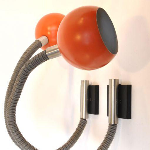 WB44-Raak wandlampen 1970