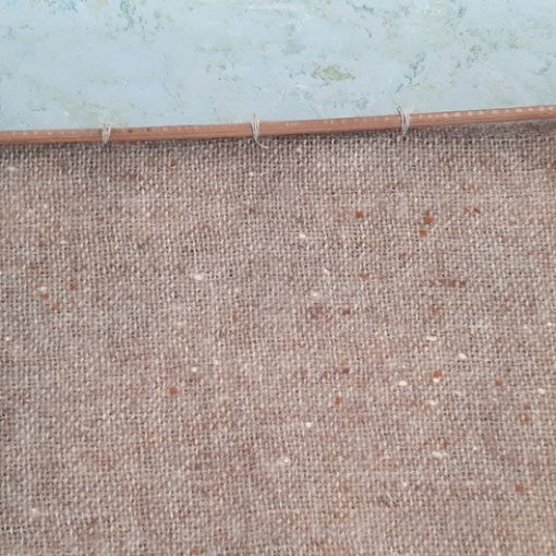 RL44 - Textiel wand object - jaren 70