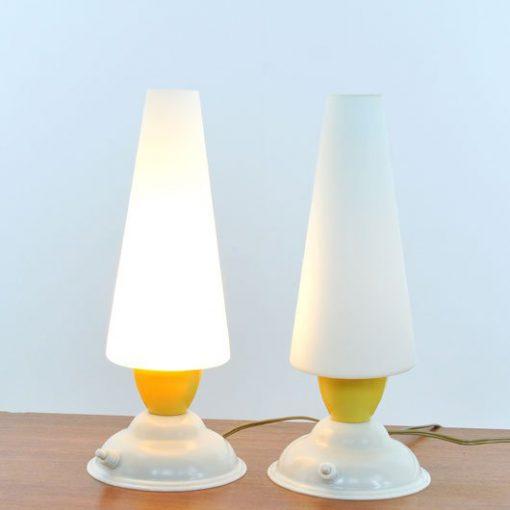 TK45- Jaren 50 Tafellampen - Set