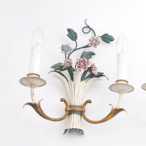 TH46 - Brocante - Bloemetjes lamp