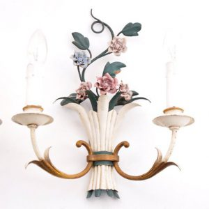 TH46 - Brocante - Bloemetjes lamp