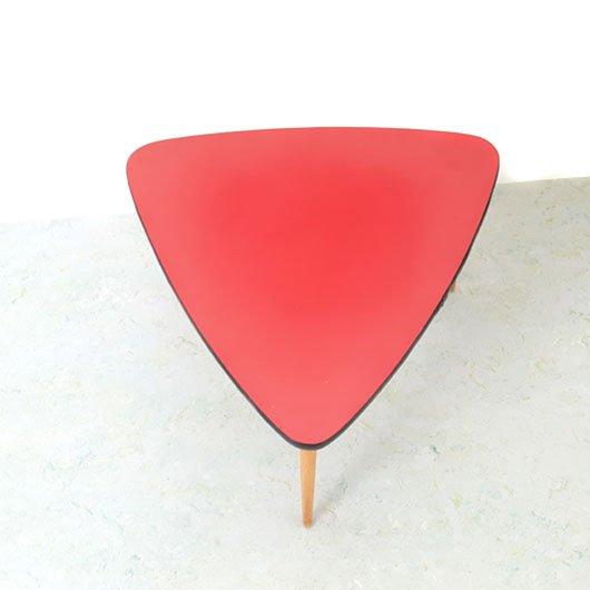 SG46 - Rood bijzet tafeltje - jaren 50 -VERKOCHT