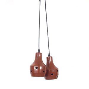 SE47 - Jaren 70 aardewerk lampen