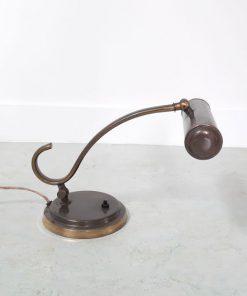 SG47 - Pianolamp - jaren 50 - messing- VERKOCHT