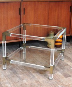 VE48 Coffeetable Acrylic Perspex Italy