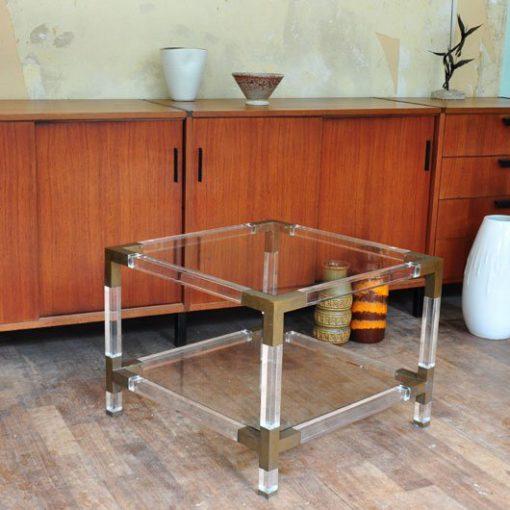 VE48 Coffeetable Acrylic Perspex Italy