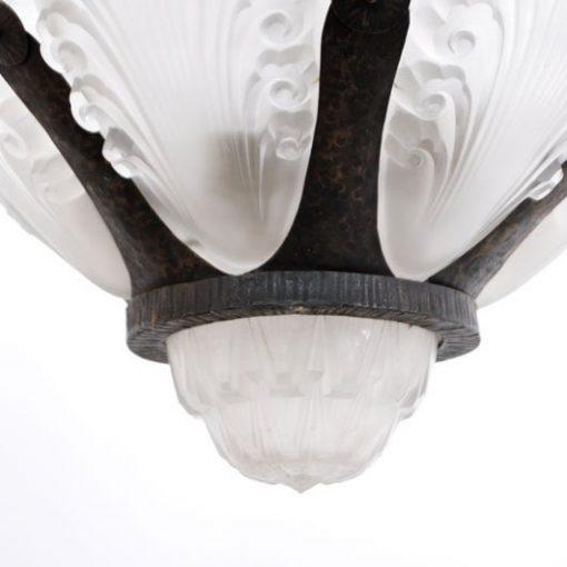 TD49 - Art Deco hanglamp VERKOCHT