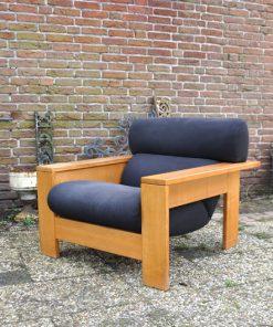 RL49 - Blok fauteuil jaren 70