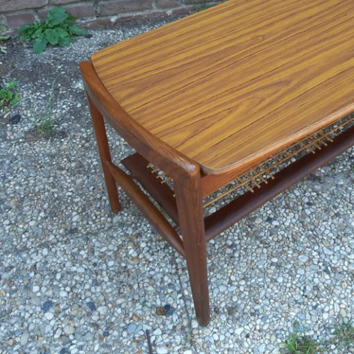 RG49 - Teak coffee table - Louis van Teeffelen- WÉBÉ - salontafel jaren 50