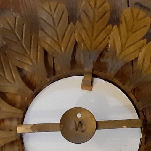 SL49 - Vintage -Zonnespiegel - Goudkleurig