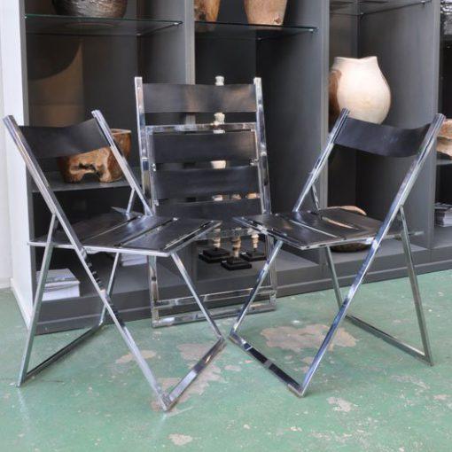 XB56. Folding chairs 70's