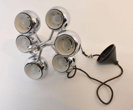 XB58.Vintage hanglamp 70's