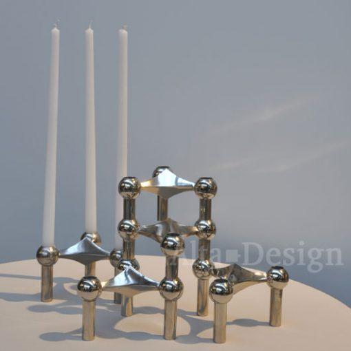 Kaarsen Nagel kandelaars - Per 10