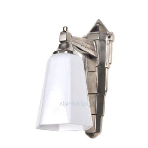 450. Wandlamp Basso- glas zeskant – Gratis verzending